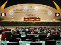 NAM summit in Kuala Lumpur, February 2003
