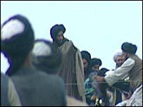 Mullah Omar, leader of ousted Taleban