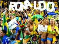 Fans cheer Brazil on to World Cup victory in 2002 