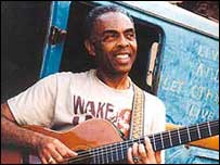 Musician and minister Gilberto Gil 