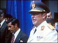 Former military dictator General Stroessner