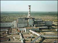 Ukraine's Chernobyl atomic power plant