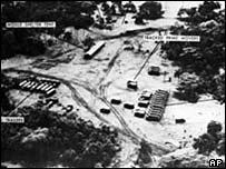 American picture of Cuban missile site