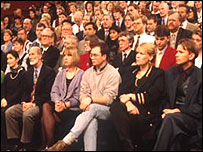 A Question Time audience