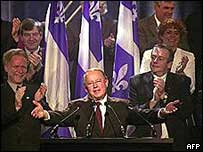 Bernard Landry from Parti Quebecois