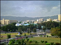 Jamaican capital Kingston