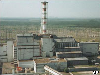 Chernobyl - scene of 1986 explosion