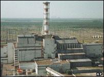 Chernobyl - scene of 1986 explosion