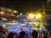 Closing ceremony of 2002 Commonwealth Games