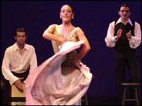 Paco Pena flamenco dance company