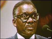 Sir Lynden Pindling who died in 2000 was prime minister 1967-92
