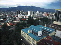 Costa Rican capital San Jose