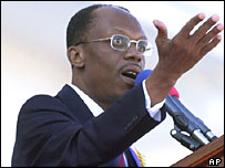 Haitian president