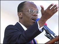 Haitian president