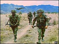 US soldiers in Honduras