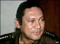 Former president Noriega