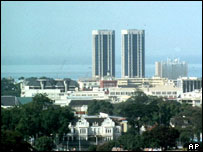 Port of Spain skyline