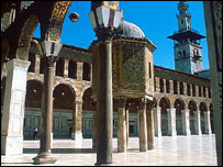 Great Mosque in Damascus