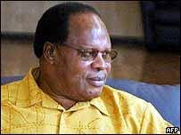 Former President Bakili Muluzi