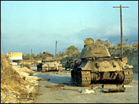 Greek tanks, Cyprus 1974