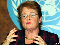 Former Premier Gro Harlem Bruntland retired as WHO director in 2003