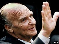 Former Bosnian leader Izetbegovic