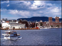 Oslo harbour