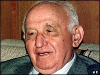 Former Bulgarian leader Todor Zhivkov
