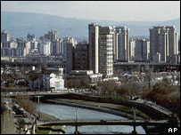 Macedonian capital Skopje