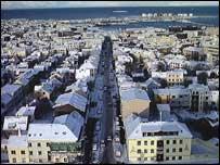 Icelandic capital Reykjavik