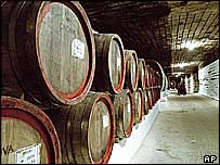 cellars of Cricova winery, Moldova