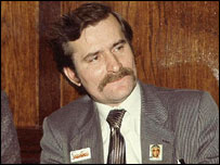 Solidarity founder Lech Walesa