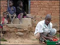 A Swazi Aids orphan