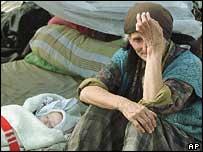 Kosovo Albanian refugees, 1998