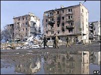 Minutka Square, Grozny