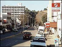 Mbabane, capital of Swaziland