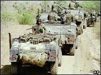 US military vehicles, Puerto Rico