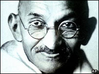 Mahatma Gandhi, the one who steered India to independence