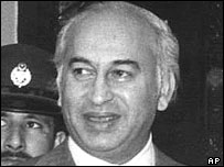 Former Prime Minister Bhutto hanged in 1979