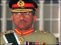 Former Pakistani leader Pervez Musharraf