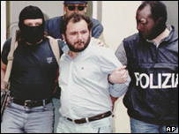 Mafia boss Giovanni Brusca was captured in 1996
