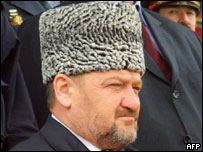 Late Chechen President Akhmad Kadyrov - killed in bomb attack