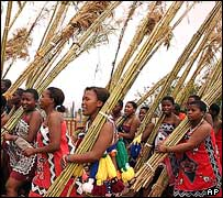 Reed dance, Swaziland