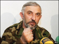 Aslan Maskhadov - reported killed in operation by Russian forces