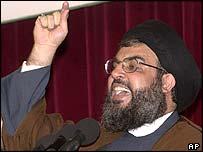 Hezbollah chief Sheikh Hassan Nasrallah