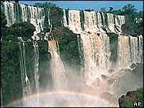 Iguazu falls, north-east Argentina