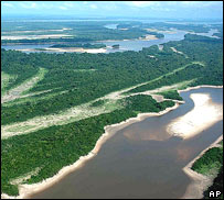 Amazon river, Amazonas, Brazil