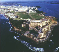 Spanish-built fortifications, Old San Juan