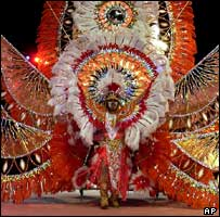 Carnival reveller, Port of Spain, 2005