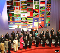 Commonwealth heads of government meet in Malta, 2005